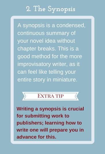 how to write a good story summary